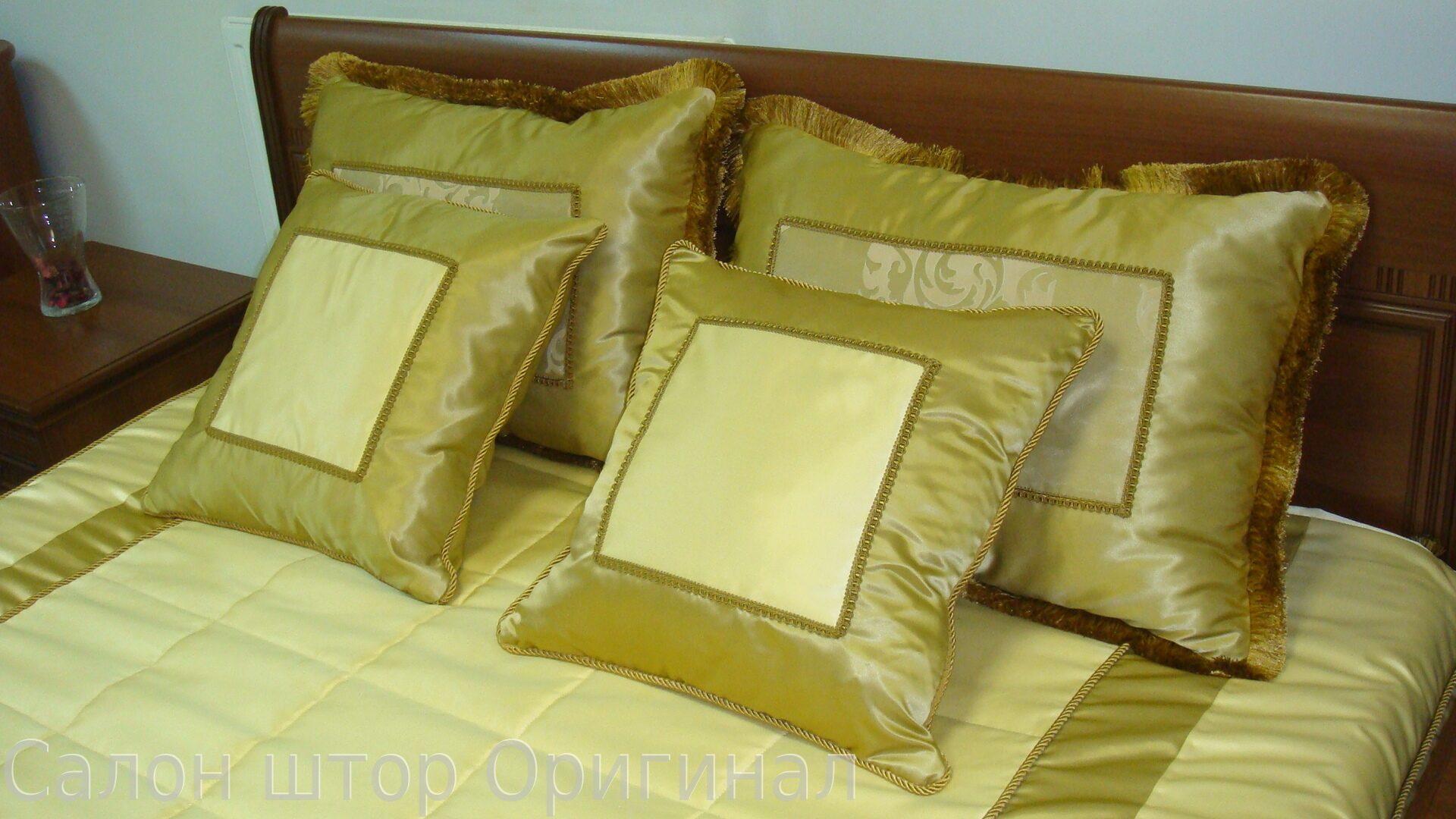 Как сшить подушки на кровать 20