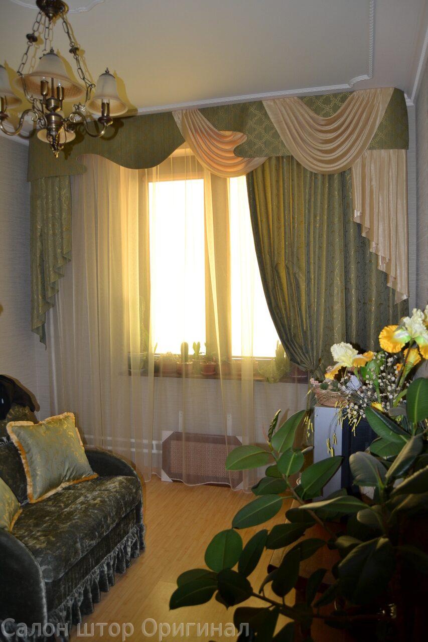 Шторы для зала гостиной комнаты наши