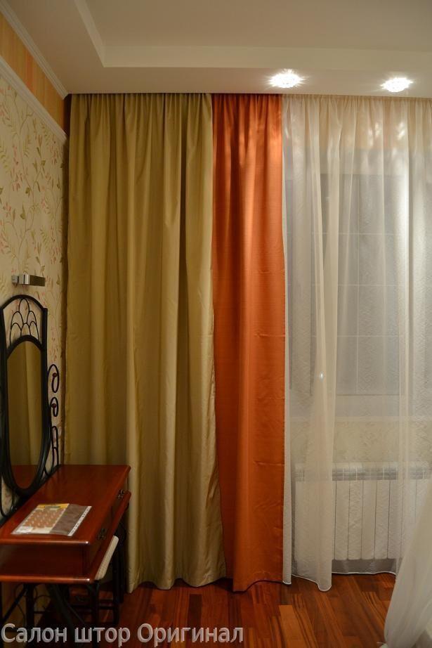 Шторы для большой гостиной фото
